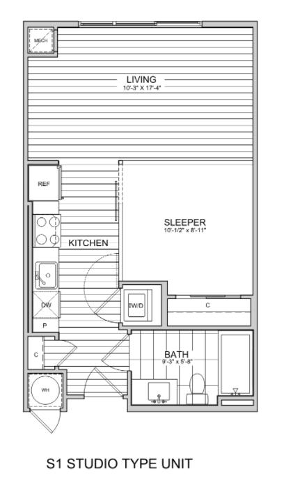 floorplan image of Studio